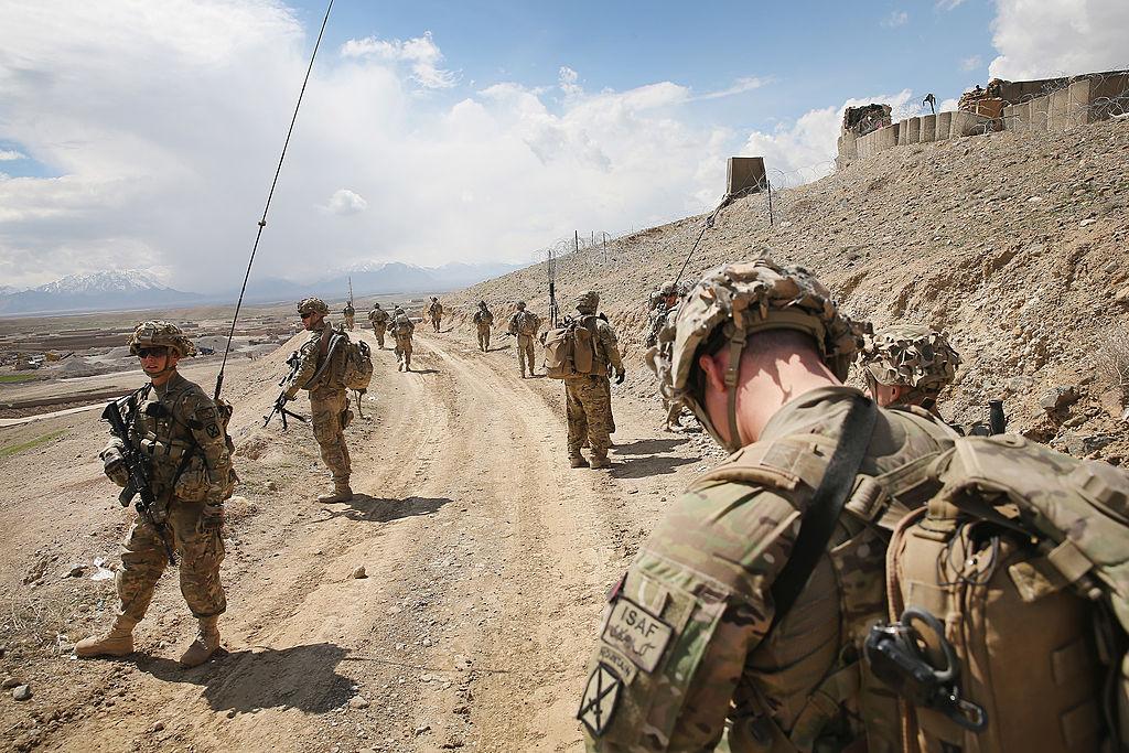 U.S troops