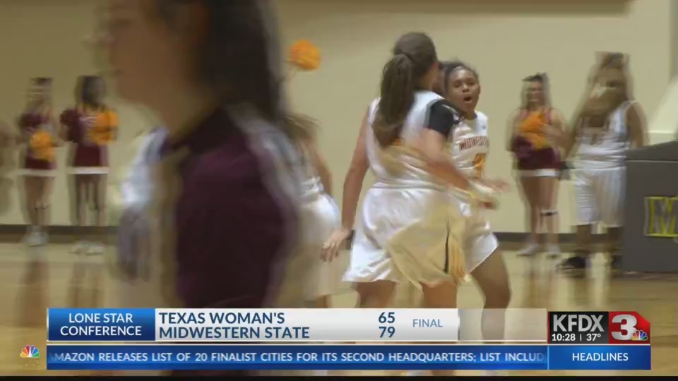 College Basketball: Texas Woman's at Midwestern State - January 18, 2018