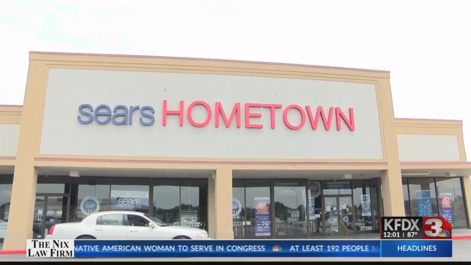 Sears Lawton Ok >> Sears Hometown Store Empty Sign Removed