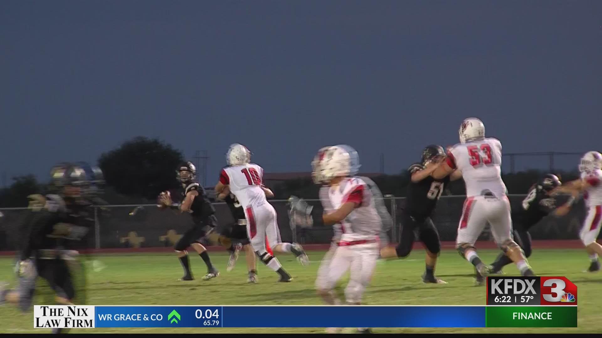 High School Football - Wellington at Quanah