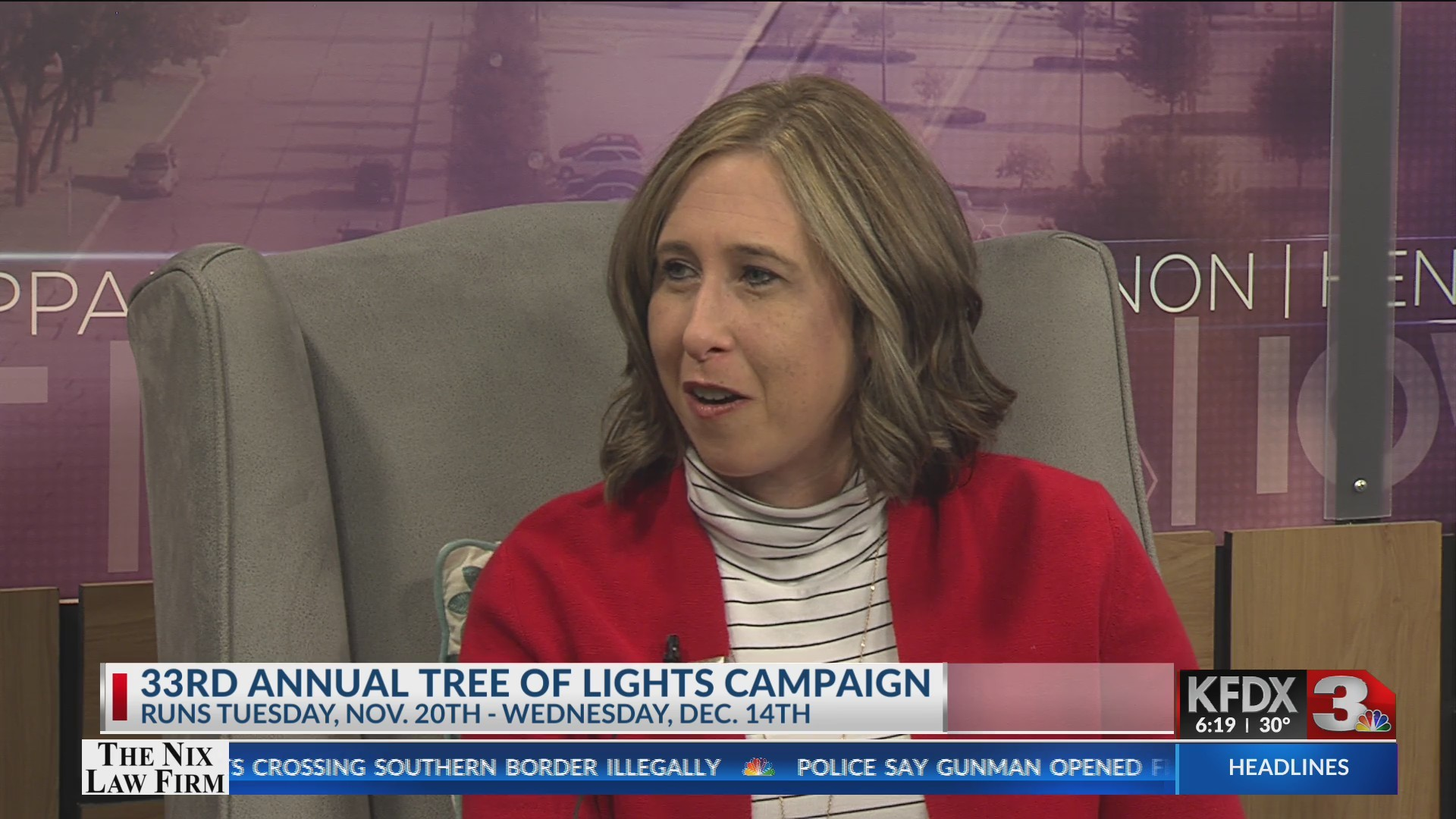 33RD ANNUAL TREE OF LIGHTS CAMPAIGN