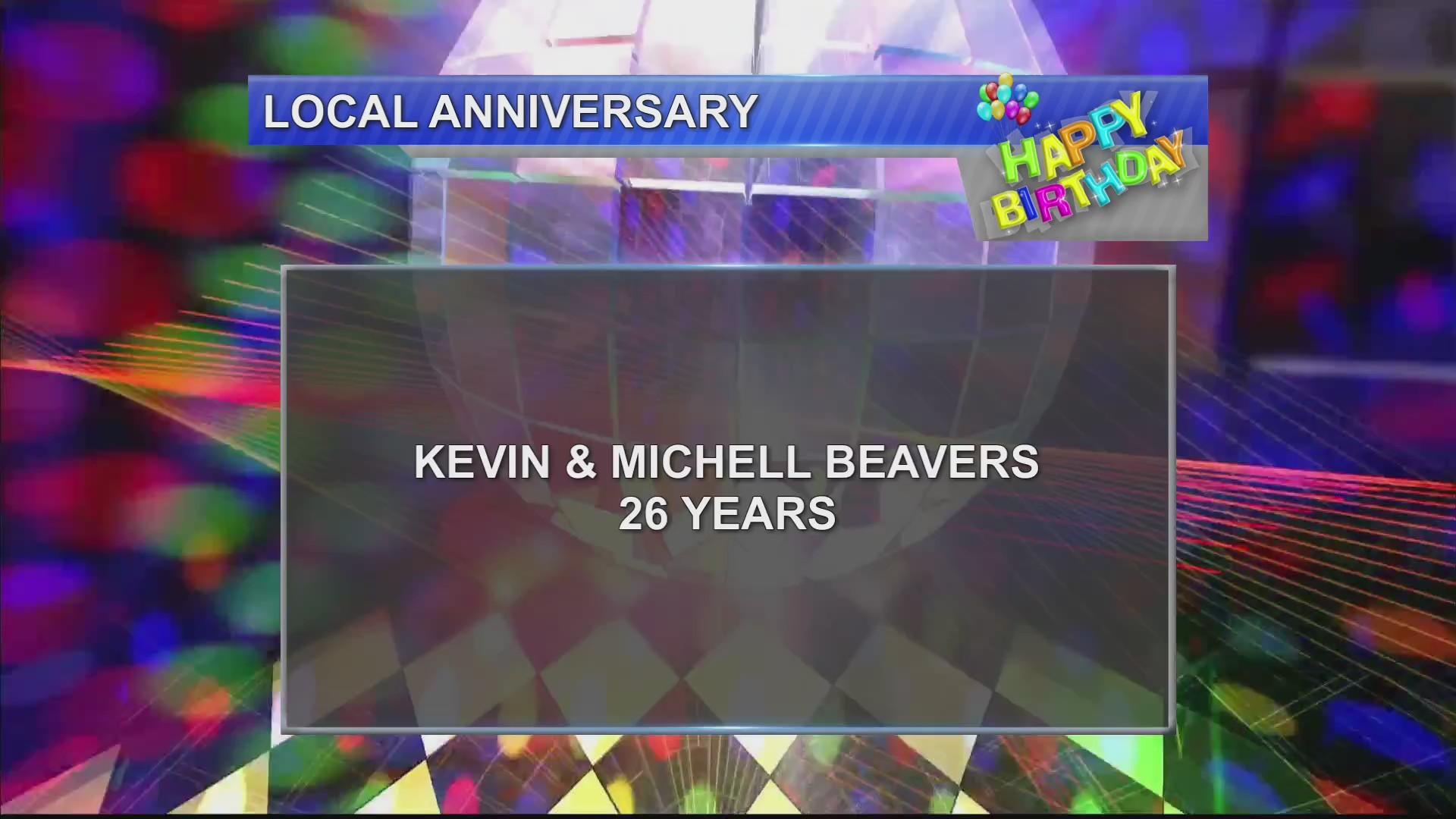 Birthdays & Anniversary 11/20/18