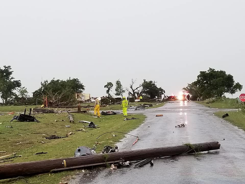 One person injured, damage reported following tornado in