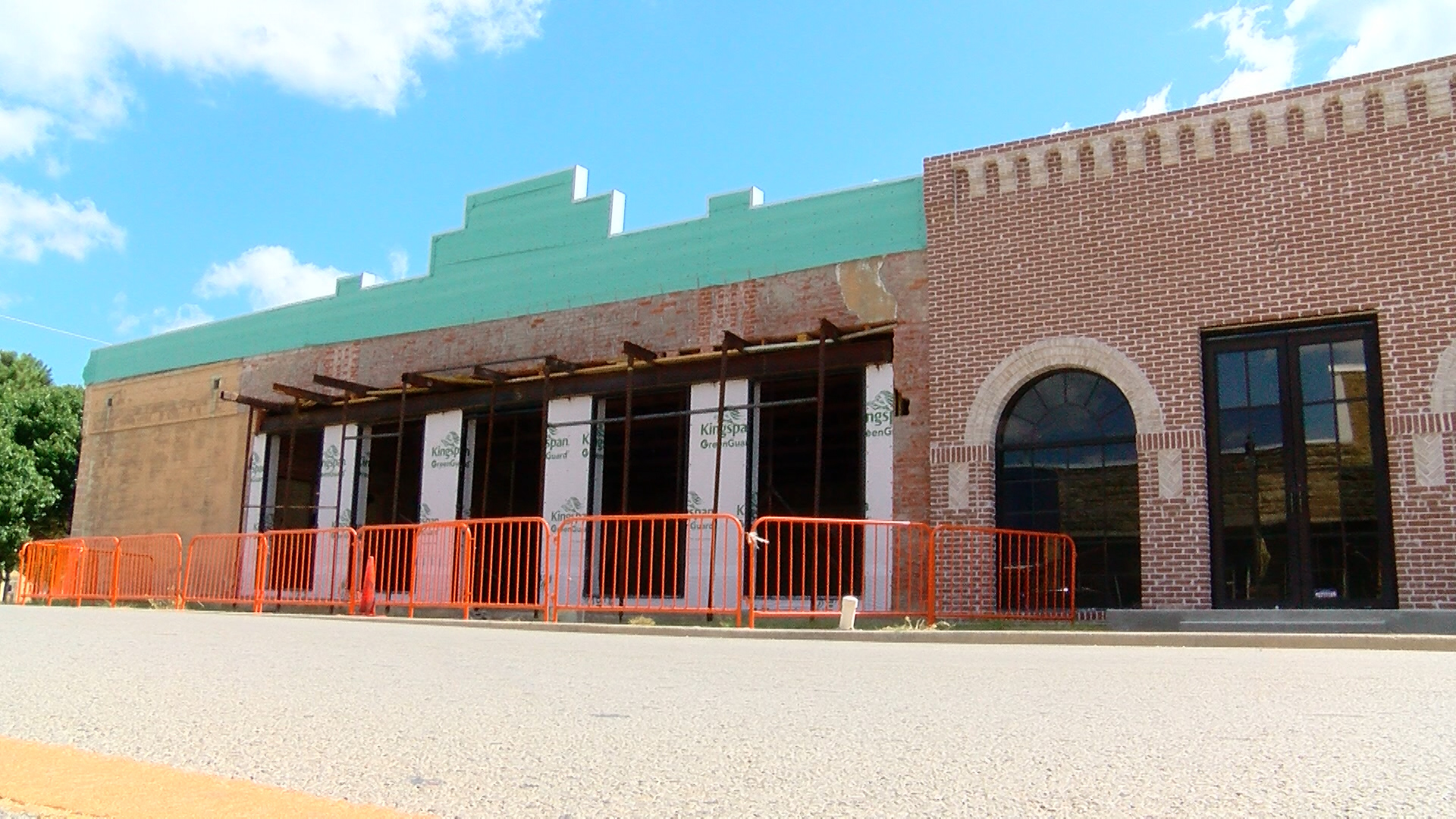 City officials in Nocona are excited to see their new city hall making progress.