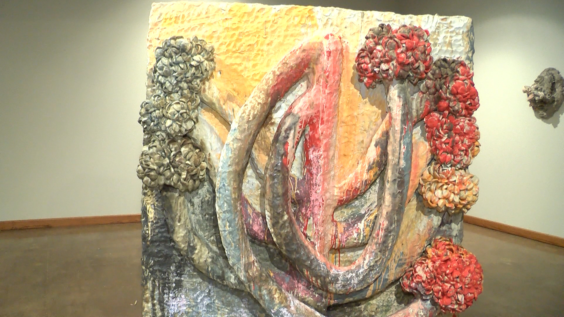An art exhibit at the Wichita Falls Museum of Art is forcing its audience to be aware of the marks they make in life.