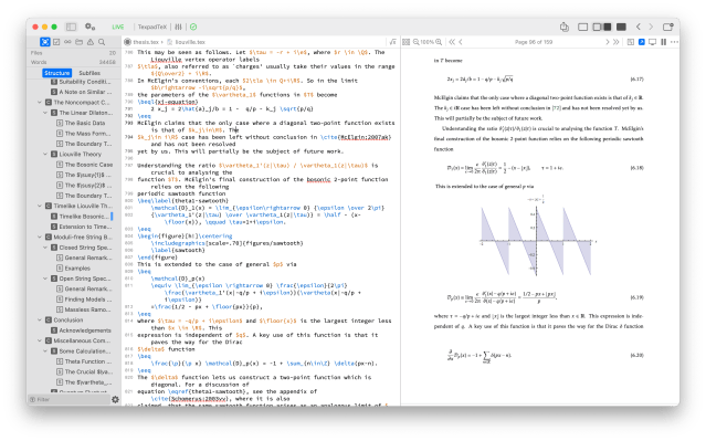 Texpad · Smoothest way to write LaTeX