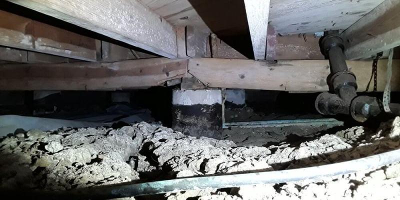 crawl space - foundation repair