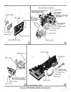 Kodak Supermatic 500 Slide Projector Model A Service and