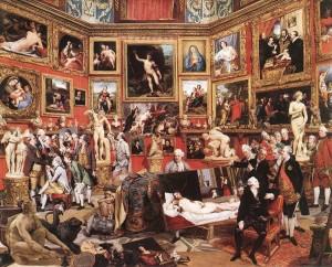 Johann Zoffany, Die Tribuna der Uffizien, 1773