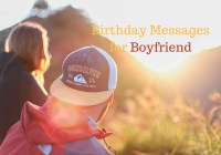 boyfriend's birthday