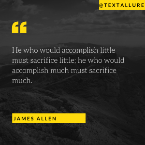 motivational quote by james Allen