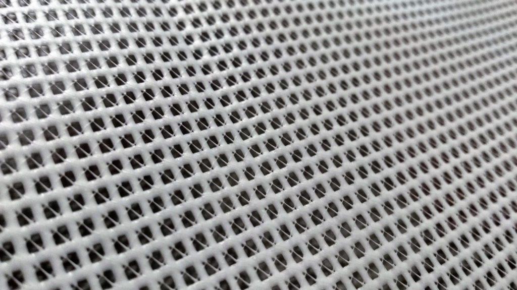 Tył siatki mesh