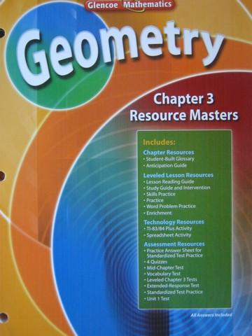 Glencoe Geometry Chapter 3 Resource Masters P