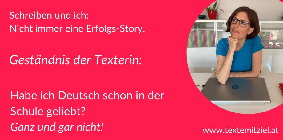 Warum gute Texte schreiben können nicht heißt, dass man Deutsch schon in der Schule geliebt hat: Meine Geschichte.