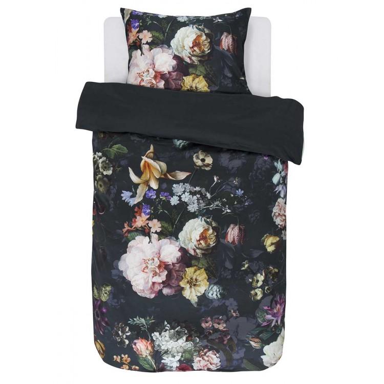 Essenza dekbedovertrek Fleur satijn nightblue  401055