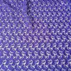 Broderie macrame ultraviolet