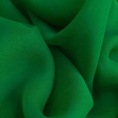Voal georgette de matase naturala verde