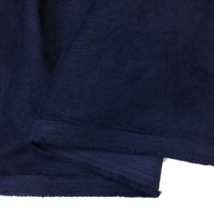 Velur bleumarin indigo