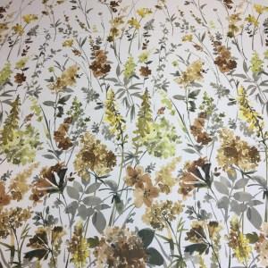 Material draperie blackout imprimeu flori