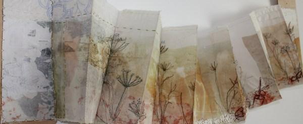 Textile Artist Cas Holmes Kentish Weald