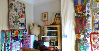 Displaying and hanging textile art - TextileArtist.org