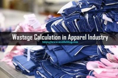 wastage calculation