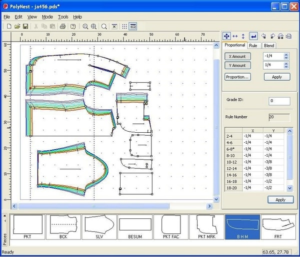 Polygon cad design Software