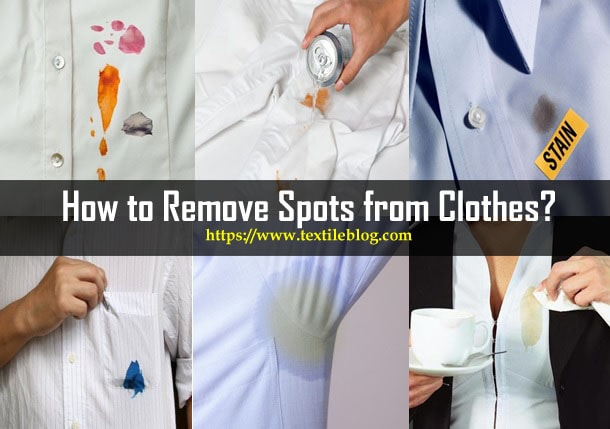 Remove Spots from Clothes