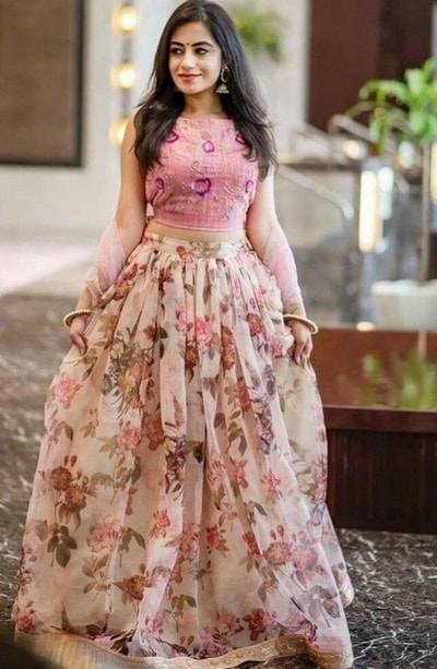 Trendy Floral Lehengas - Ladies Trending Fashion in Pakistan
