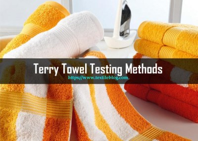 Terry Towel Testing methods