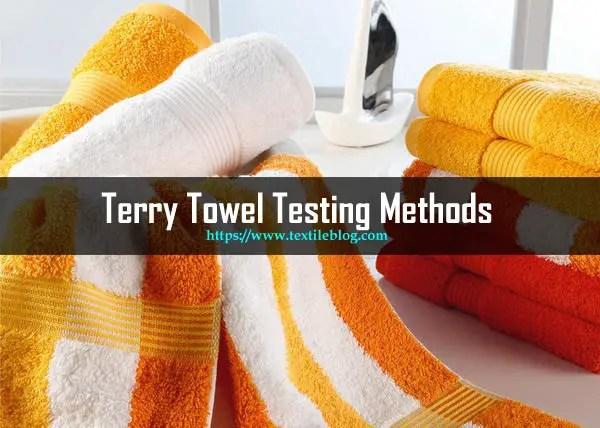 Terry Towel Testing methods