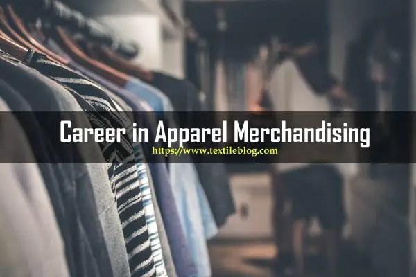 career in apparel merchandising