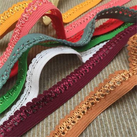 lace braid and elastic