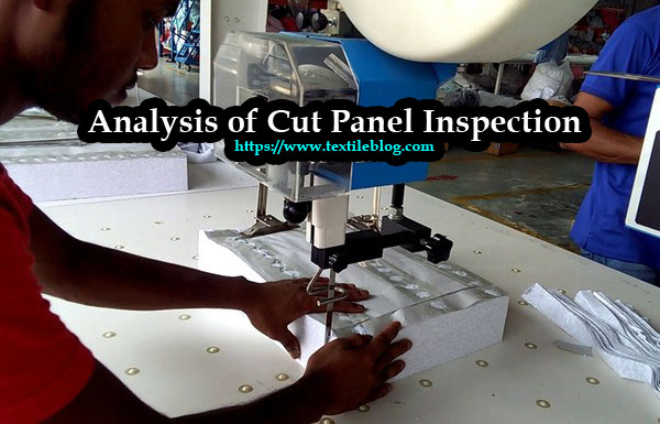 Analysis of Cut Panel Inspection