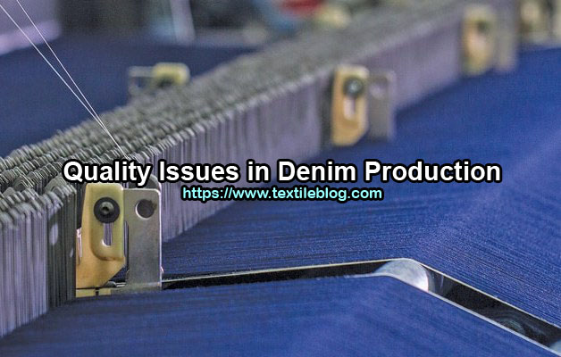 denim production