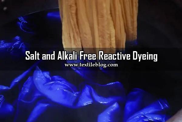 Salt and Alkali Free Reactive