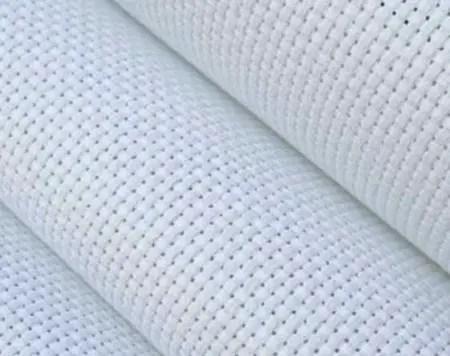 Aida cloth fabric