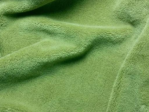 Fleece knit fabric