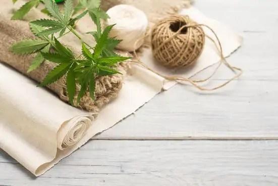 Products of hemp fiber