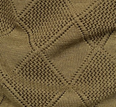 Pointelle knit fabric