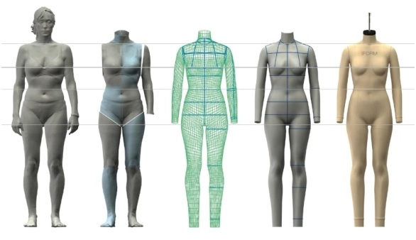 different body sizes and shapes