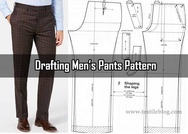 drafting men's pants pattern