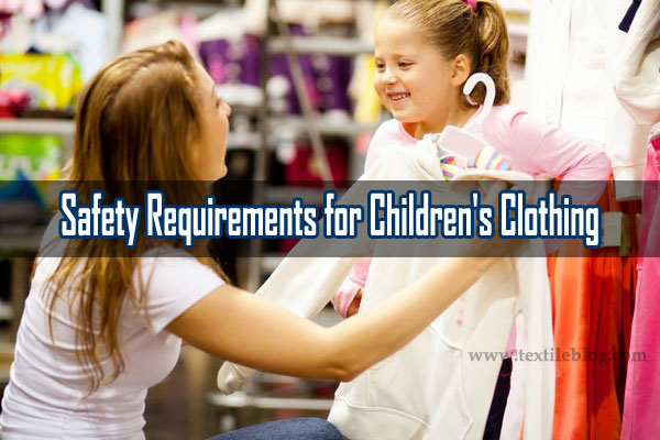 Safety Requirements for Children's Clothing