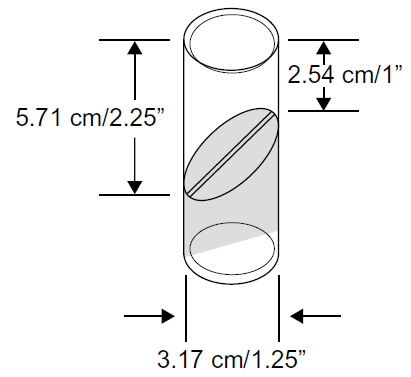product measuring cylinder