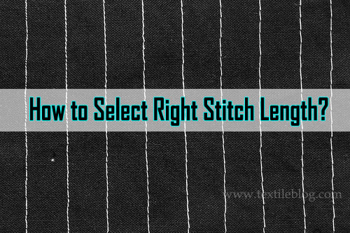 select right stitch length