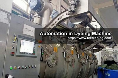 Automation in Dyeing Industry