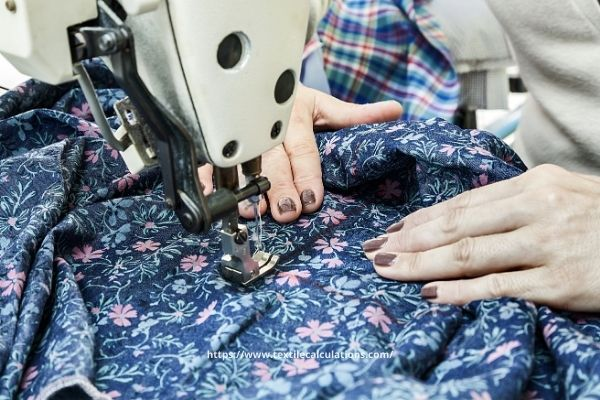 Sewing Time with Machine RPM