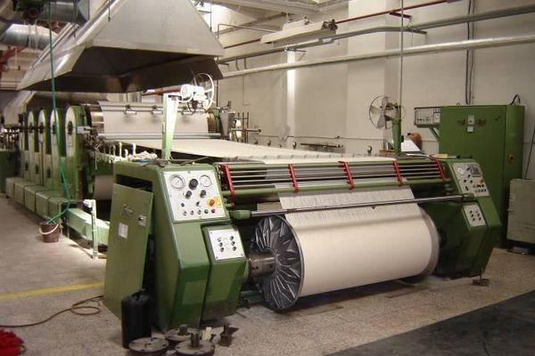 warp sizing machine