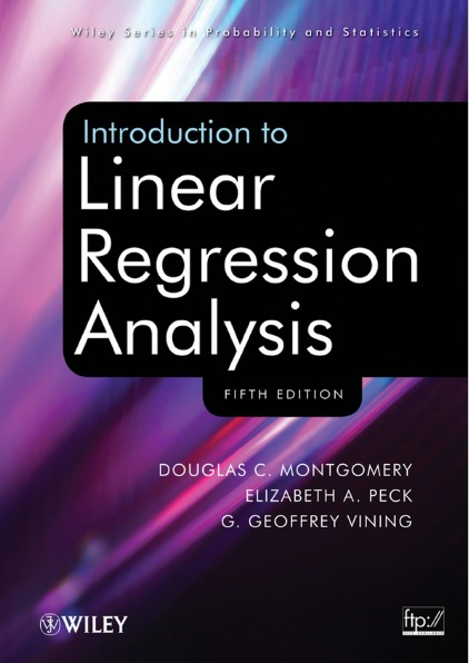 Introduction to Linear Regression Analysis 5th Edition