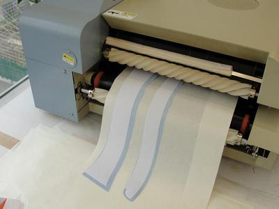 Flow Chart of Garment Fusing Process